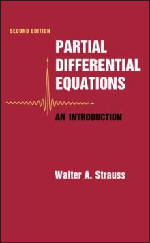 Partial Differential Equations : An Introduction, Hardback Book