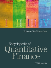 Encyclopedia of Quantitative Finance : 4 Volume Set, Hardback Book