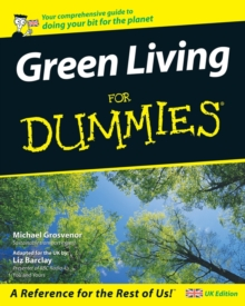Green Living For Dummies<sup> (R)</sup>, Paperback / softback Book