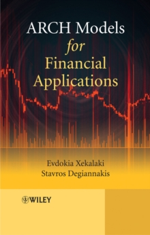 ARCH Models for Financial Applications, Hardback Book