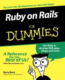 Ruby on Rails For Dummies, Paperback / softback Book