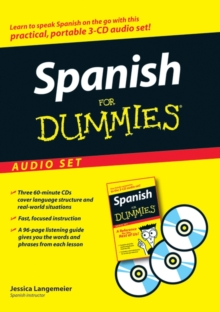 Spanish for Dummies, Audio Set, Audio cassette Book