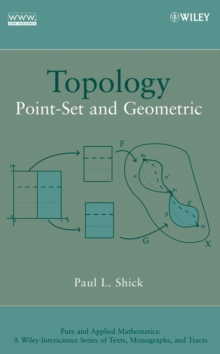 Topology : Point-Set and Geometric, Hardback Book