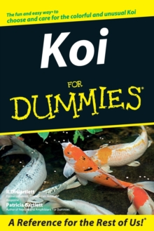 Koi For Dummies, Paperback Book