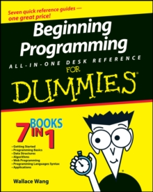 Beginning Programming All-In-One Desk Reference for Dummies, Paperback Book