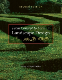 From Concept to Form in Landscape Design, Paperback Book