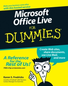 Microsoft Office Live For Dummies, Paperback Book
