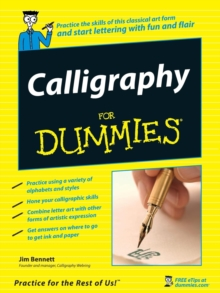 Calligraphy for Dummies, Paperback Book