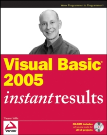 Visual Basic 2005 Instant Results, Paperback Book