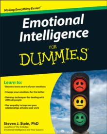 Emotional Intelligence for Dummies, Paperback Book
