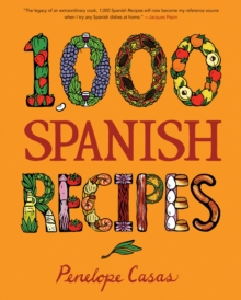 1,000 Spanish Recipes, Hardback Book