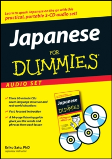 Japanese For Dummies Audio Set, Undefined Book
