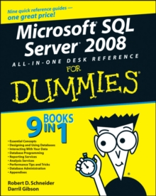 Microsoft SQL Server 2008 All-in-One Desk Reference For Dummies, Paperback / softback Book