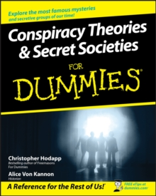 Conspiracy Theories & Secret Societies for Dummies, Paperback Book