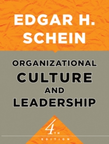 Organizational Culture and Leadership, Paperback Book