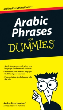 Arabic Phrases For Dummies, Paperback Book