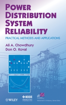 Power Distribution System Reliability : Practical Methods and Applications, Hardback Book