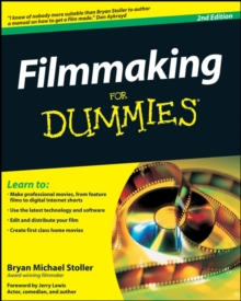 Filmmaking For Dummies, Paperback Book