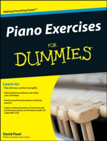 Piano Exercises for Dummies, Paperback Book