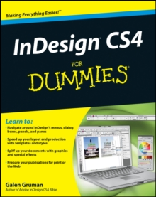 InDesign CS4 For Dummies, Paperback Book