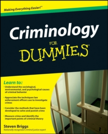 Criminology For Dummies, Paperback / softback Book