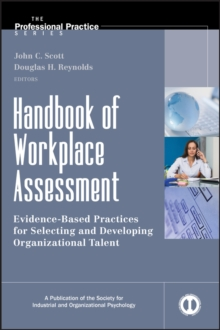 Handbook of Workplace Assessment, Hardback Book