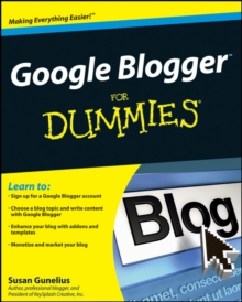 Google Blogger For Dummies, Paperback Book