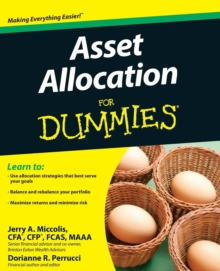 Asset Allocation For Dummies, Paperback / softback Book