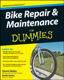 Bike Repair & Maintenance for Dummies, Paperback Book