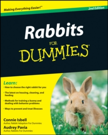 Rabbits For Dummies, Paperback Book