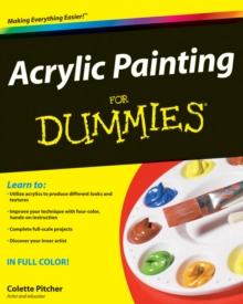 Acrylic Painting For Dummies, Paperback Book