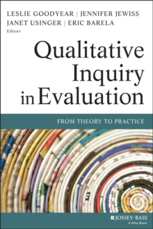 Qualitative Inquiry in Evaluation : From Theory to Practice, Paperback / softback Book