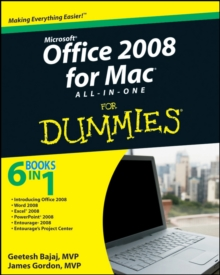 Office 2008 for Mac All-in-One For Dummies, Paperback / softback Book