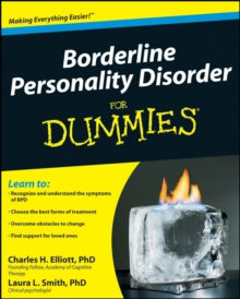 Borderline Personality Disorder for Dummies, Paperback Book