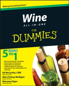 Wine All-In-One for Dummies, Paperback Book