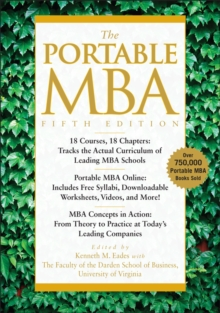 The Portable MBA, Hardback Book