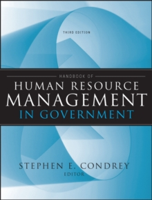 Handbook of Human Resource Management in Government, Hardback Book