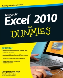 Excel 2010 For Dummies, Paperback / softback Book