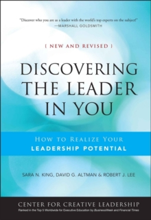 Discovering the Leader in You : How to realize Your Leadership Potential, Hardback Book