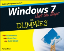 Windows 7 Just the Steps for Dummies (R), Paperback Book