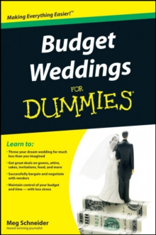 Budget Weddings For Dummies, Paperback / softback Book