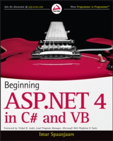 Beginning ASP.NET 4 : In C# and Vb, Paperback / softback Book