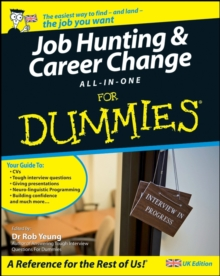 Job Hunting and Career Change All-In-One For Dummies, Paperback Book