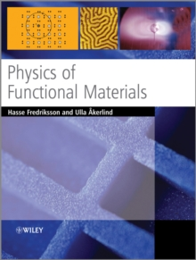 Physics of Functional Materials, Paperback / softback Book