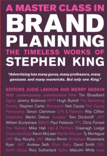 A Master Class in Brand Planning - the Timeless   Works of Stephen King, Hardback Book