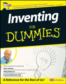 Inventing For Dummies (R), Paperback Book