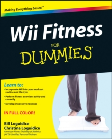 Wii Fitness For Dummies, Paperback Book