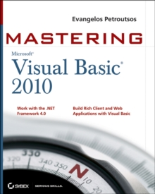 Mastering Microsoft Visual Basic 2010, Paperback / softback Book