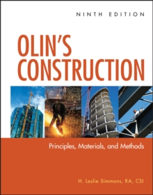 Olin's Construction : Principles, Materials, and Methods, Hardback Book