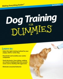 Dog Training For Dummies, Paperback Book